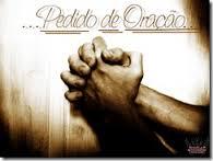 Solicite uma oração